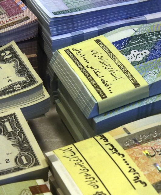Where is Iranian Rial heading to